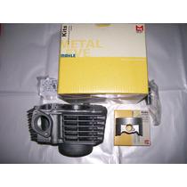 Kit Cilindro Pistão Anéis Metal Leve Honda Cg Titan 150