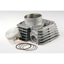 Kit Aumento De Cilindrada P/ Titan/nxr150 Com Pistao 2mm