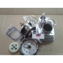 Kit 200cc Para Cg 125, Completo Com Cabeçote 200
