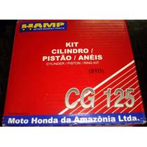 Kit Cilindro/pistão/anéis Fan125/bros125 Acima 2009 Original