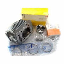 Kit Motor Completo Cilindro Pistao Metal Leve Nx 200