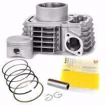 Kit Motor Cilindro/pistão/anéis + Juntas Titan150/bros150 Me