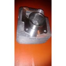 Kit Pistão E Anéis Cilindro Motor Ybr125