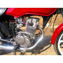 Cilindro Motor 200cc Para Cg 125 Cg 79 A 2008 Motorzao