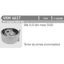 Vkm4617 Skf Tensor Correia Dentada Peugeot 206 1.0 16v