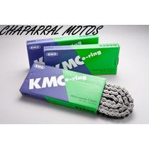 Corrente Transmissão Moto Kmc Honda Xre300 C/ Retentor