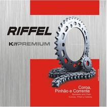 Kit Relação Riffel Honda Biz125 Es Ks 2005 A Diante Aço1023#