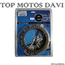 Jogo Discos Embreagem Moto Yamaha Yz 125 96 - 99