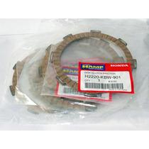 Kit Discos De Embreagem Hamp Cg125/cg150/cbx Xr200/crf230