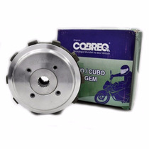 Kit Cubo Plato Disco Embreagem Honda Cg Titan Fan 125 Cobreq