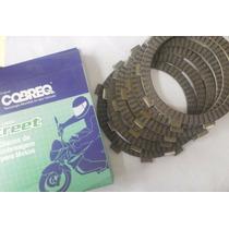 Disco De Embreagem Cobreq 5 Discos Para Yamaha Ybr 125