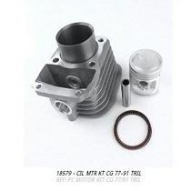 Cilindro Do Motor Kit Cg Bolinha 77 A 91
