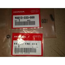 Parafuso E Porca Regulagem Valvula Honda Xl250r Original