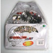 Kit Relação Corrente Retentor Yamaha Xtz 250 Lander 09/...
