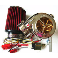 Kit Turbo Elétrico Moto Universal Pop Cg, Titan, Shineray