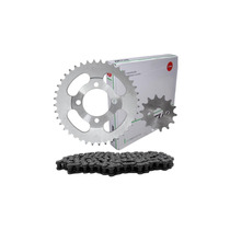 Kit Transmissão Scud Fazer250 Corrente Kmc E Retentor