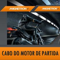 Cabo Do Motor De Partida Fazer 250 Até 2011 - Magnetrom
