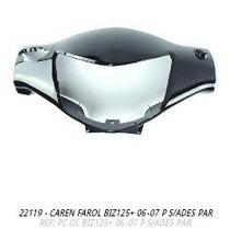 Carenagem Farol Biz125 2006 - 2007 Preto S/adesivo