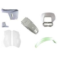 Kit Plastico Carenagens Xr200 Branco Jogo