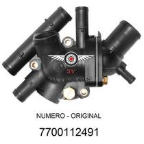 Valvula Termostatica Scenic 1999 Em Diant Motor 2.0 8v