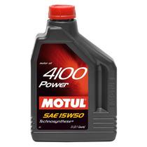 Óleo Motul 4100 Power 15w50 Semi Sintético