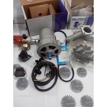 Kit Alternador 55ah+ignição Eletrônica Fusca Brasilia Kombi