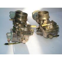 Carburador Par Kombi/fusca/brasilia Alcool E Gasolina