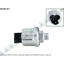 Sensor De Pressão Óleo Volvo Ônibus B10 Diesel 89/95 - Vdo