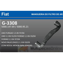 G3308 Mangueira Filtro Ar Fiat Uno/ Palio/ Fiorino