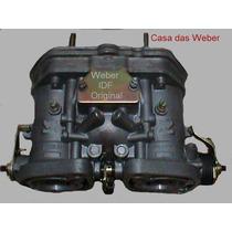 Weber 44 Idf Original + Coletor De Admis. Opala 6cc Álcool