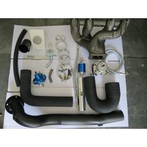 Kit Turbo Vw Ap Pulsativo Ar E Direção Coletor Tmw14 Spa