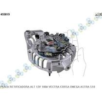 Placa Retificadora Alternador 12v 100a Vectra Corsa Omega