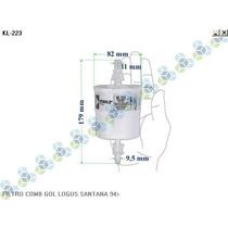 Filtro Combustivel Gol Logus Santana 94/...
