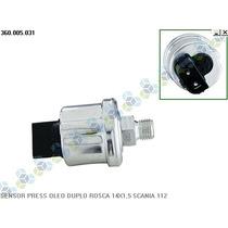 Sensor De Pressão Óleo Scania T-122 Diesel 82/90 - Vdo