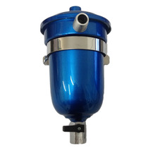 Reservatório P\ Respiro Óleo 500ml Aluminio Universal Azul