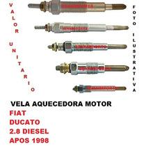 Vela Aquecedora Fiat Ducato 2.8 8v Diesel Apos 1998