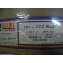 Junta Cabeçote: Chevrolet Brasil C/ Motor 261 (1958 A 1976)