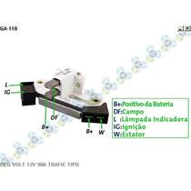 Regulador De Voltagem Renault Tempra 14v 90a - Gauss