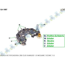 Placa Retifiacdora Peugeot 206 1.0 10/02... 85a - Gauss