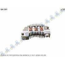 Placa Retificadora 65a Monza C/ Alternador Arno 82/90