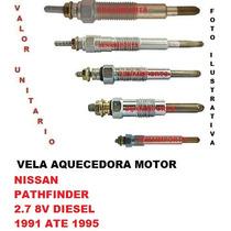 Vela Aquecedor Nissan Pathfinder 2.7 8v Diesel 1991 Ate 1995