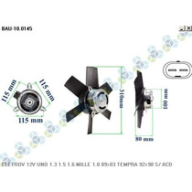 Ventoinha Radiador Fiat Tempra 2.0 Spi 8v 92/98 - Bauen