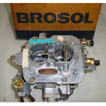 Carburador Solex Novo 30/34 Blfa Monza 1.8 Gas 06/85 A 06/86