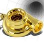 Turbina Chaveiro Turbo Dourada * Frete R$13,00 Todo Brasil *