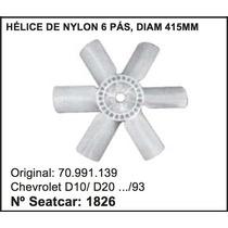 Helice Do Radiador D10 D-20 Até 93 Nylon