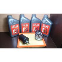 Óleo Selenia K 15w40 Sm + Kit Filtros Palio / Idea 1.8 8v
