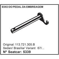 Eixo Do Pedal Da Embreagem Vw Fusca Brasilia Variant 67...