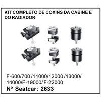 Kit Completo De Coxins Da Cabine E Do Radiador F-600 F-700