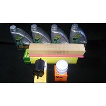 Óleo 10w40 Sm Semi Sintético + Kit Filtros Nissan March 1.0