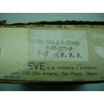 Fnm - Bronzinas Mancal Bc-030-j - Metal Leve - Med.0,254mm